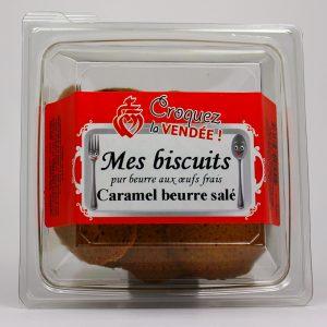 Biscuits au caramel beurre salé
