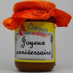 Caramel au Beurre Salé – Sel de Noirmoutier – Joyeux Anniversaire