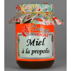 Miel toutes fleurs à la Propolis (miel récolté au printemps ) 250g